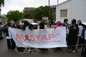 MASYAP members and staff during the parade