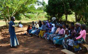 Talk on HIV/AIDS in Mulanje, Malawi