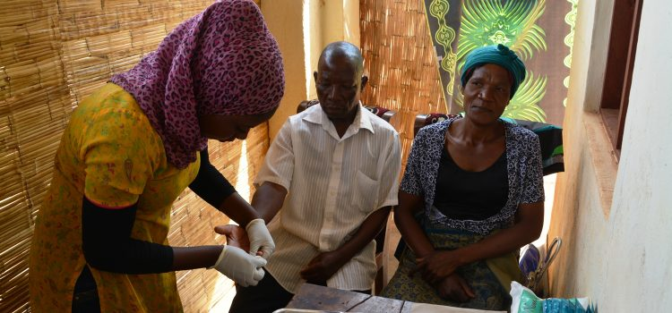 HIV testing and counselling in Mulanje