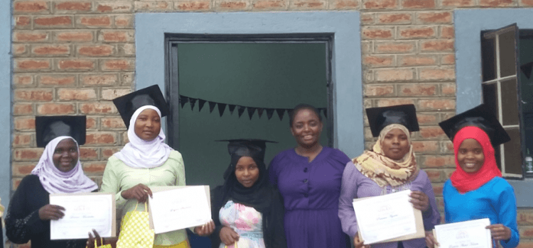 Five Young Women Graduate From MWAYI Tailoring Apprenticeship Programme
