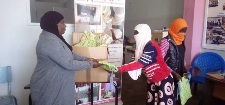 MASYAP Donates Own -Stitched Re-usable Sanitary Pads